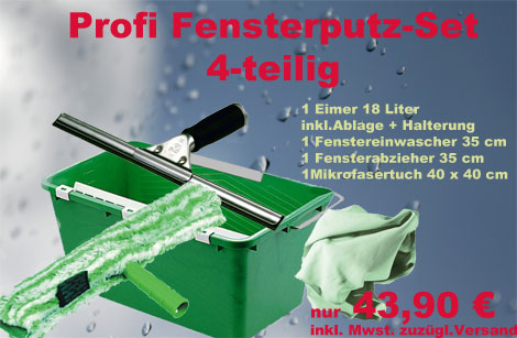 Fensterputz-Set | Fensterreinigungs-Kit