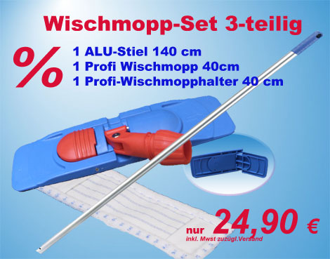 Wischmopp-Set Wischmop-Kit